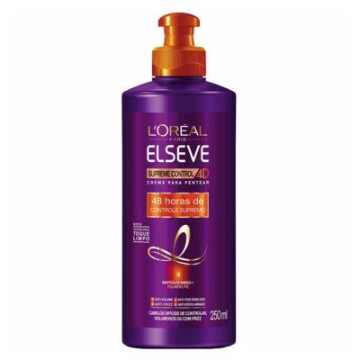Imagem 4 do produto Kit Condicionador + Creme de Pentear + Shampoo L'Oréal Paris Elseve Supreme Control 4D - Kit