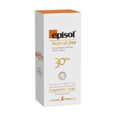 Protetor Solar Episol FPS30 Loção Oil Free Mantecorp Skincare 120g
