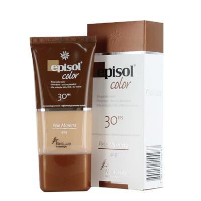 Imagem 1 do produto Protetor Solar Episol Color Pele Morena FPS 30 Mantecorp Skincare 40g