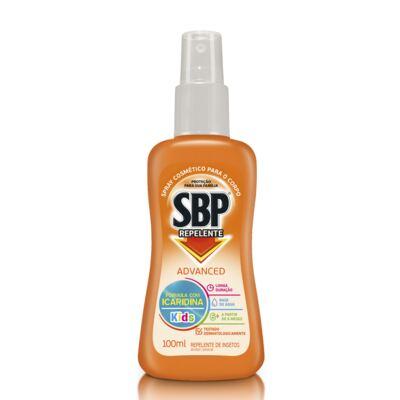 Imagem 1 do produto Repelente SBP Advanced Spray Kids 100ml