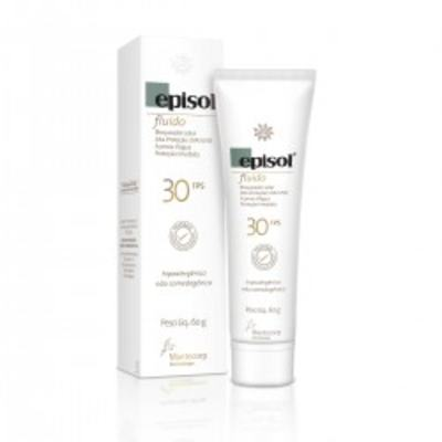Protetor Solar Episol FPS30 Fluído Mantecorp Skincare 60g