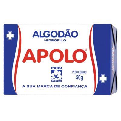 Imagem 1 do produto Algodão Apolo 50g