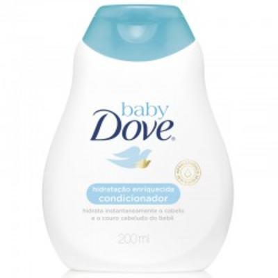 Imagem 1 do produto Condicionador Dove Baby Hidratação Enriquecida 200ml