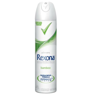 Desodorante Aerosol Rexona Feminino Bamboo 105g