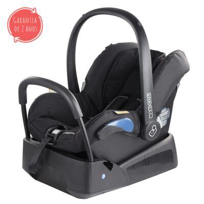 Imagem 1 do produto Bebe Conforto com Base Citi Black Raven 0 a 13 kg - Maxi-Cosi