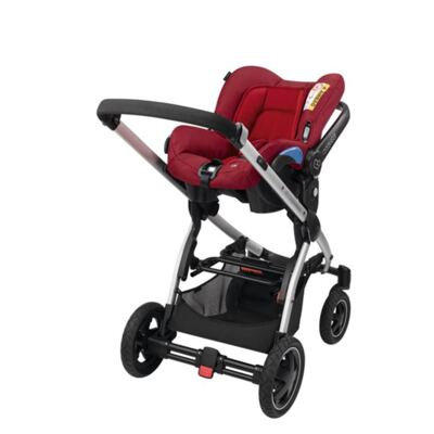 Imagem 4 do produto Bebe Conforto com Base Citi Black Raven 0 a 13 kg - Maxi-Cosi