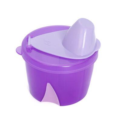 Porta leite em pó para viagem Lilás (0m+) -  Clevamama - 7007-C DOSADOR PARA LEITE EM PO LILÁS