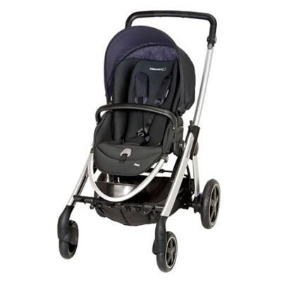 Imagem 2 do produto Travel System: Carrinho de bebê Elea Total Black + Moisés Windoo Plus Black Raven (0m+) - Bébé Confort