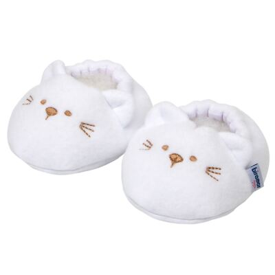 Imagem 1 do produto Pantufa para bebe Branco - Biramar Baby