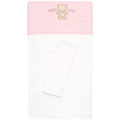 Colchão para carrinho em malha Pink Teddy Bear - Classic for Baby