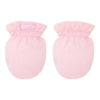Imagem 2 do produto Kit 4 luvas para bebe em malha Branca/Amarela/Marfim/Rosa - Roana