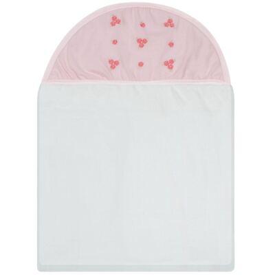 Imagem 1 do produto Toalha com capuz Florzinhas - Classic for Baby