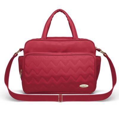 Imagem 1 do produto Bolsa maternidade para bebe Turin Chevron Rubi - Classic for Baby Bags