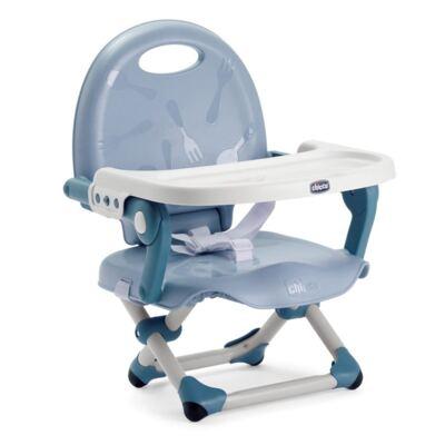 Imagem 1 do produto Cadeira de Alimentação Assento Elevatório Pocket Snack Blue Sky (6m+) - Chicco