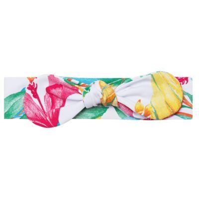 Imagem 1 do produto Faixa de cabelo em lycra Laço Flores - Letiti