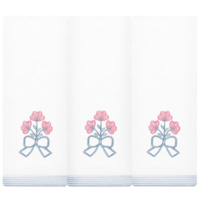 Imagem 1 do produto Kit com 3 fraldinhas de boca em malha Mini Bouquet - Classic for Baby