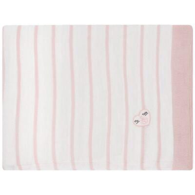 Manta em tricot Pink Captain - Baby Classic