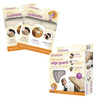 Protetor de Quinas + Protetor Multi-Uso - Clevamama