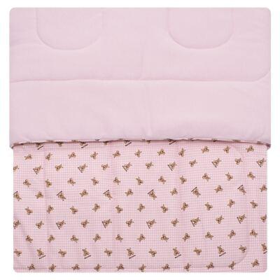 Imagem 2 do produto Edredom para berço em algodão egípcio c/ jato de cerâmica e filtro solar fps 50 Teddy Sammy - Classic for Baby