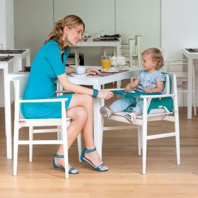 Imagem 2 do produto Cadeira de Alimentação Assento Elevatório Mode Moonlight (6m+) - Chicco