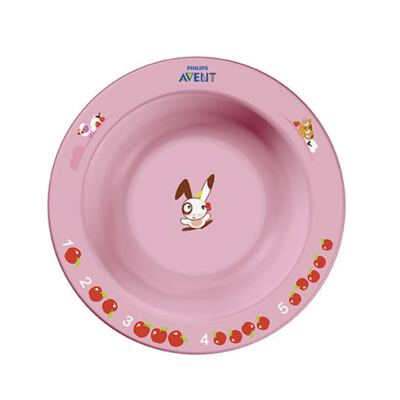 Tigela Infantil Pequena Rosa (6m+) - Philips Avent