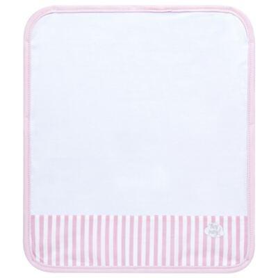 Imagem 3 do produto Kit com 3 fraldinhas de boca para bebe em malha Pink Teddy Bear - Hey Baby