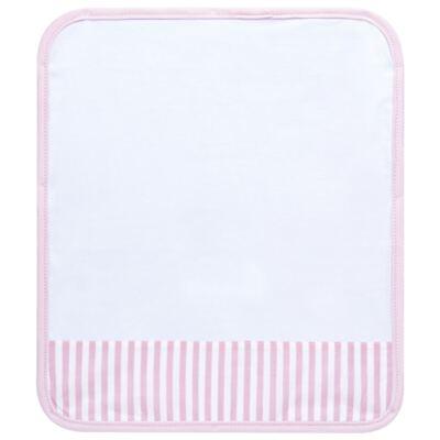 Imagem 4 do produto Kit com 3 fraldinhas de boca para bebe em malha Pink Teddy Bear - Hey Baby