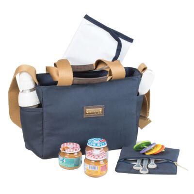 Imagem 2 do produto Frasqueira para bebe Alice Urban Marinho - Masterbag