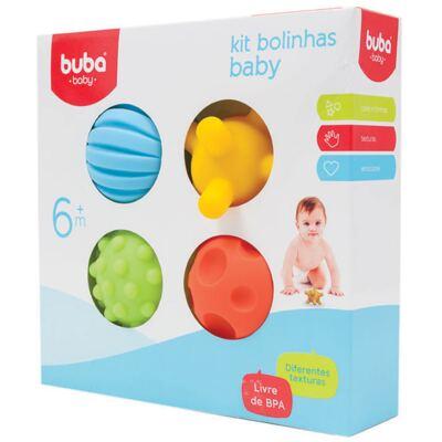 Imagem 1 do produto Kit 4 Bolinhas Coloridas (6m+) - Buba