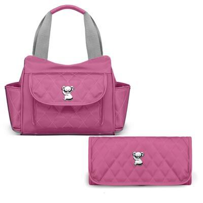 Imagem 1 do produto Bolsa Térmica Aruba + Trocador Portátil para bebe Colors Pink - Classic for Baby Bags