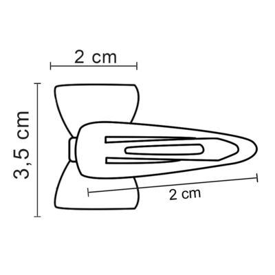 Imagem 3 do produto Tic Tac Laço em cetim Bordô - Roana