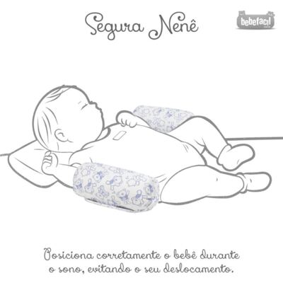 Imagem 3 do produto Segura nenê em suedine Petit Marin - Classic for Baby