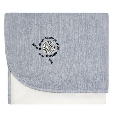 Imagem 1 do produto Manta em algodão egípcio c/ jato de cerâmica e filtro solar fps 50 Sport Denim - Mini&Kids