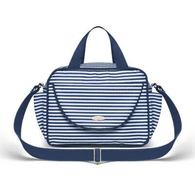 Imagem 3 do produto Bolsa + Frasqueira para Bebê Stripes Marinho - Classic for Baby Bags
