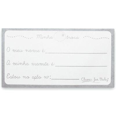 Imagem 4 do produto Kit 3 Saquinhos para maternidade Minhas Roupinhas Marinho - Classic for Baby