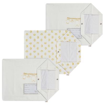 Imagem 1 do produto Kit 3 Saquinhos para maternidade Minhas Primeiras Roupinhas Queen - Anjos Baby