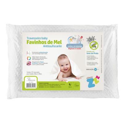 Imagem 1 do produto Travesseiro Favinhos de Mel Baby Antissufocante - Fibrasca