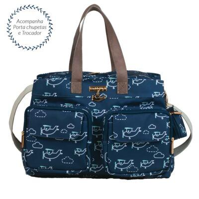 Imagem 1 do produto Bolsa para bebe Toulouse Aviões - Masterbag