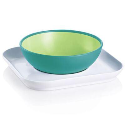 Baby's Bowl & Plate Neutral (6m+) - MAM