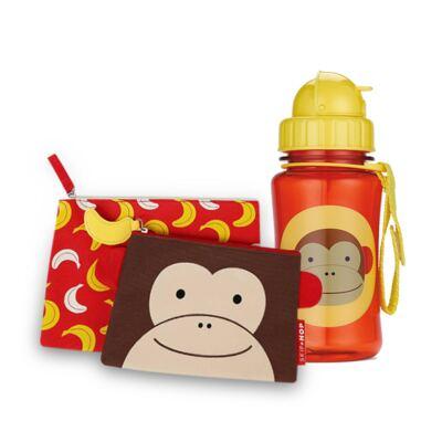 Imagem 1 do produto Estojo para bebe + Garrafinha Zoo Macaco - Skip Hop