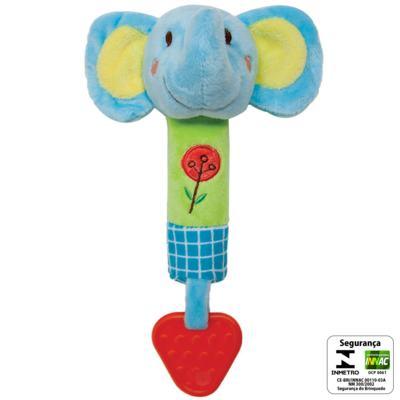 Imagem 2 do produto Buzina & Mordedor Safari Elefantinho (3m+) - Buba