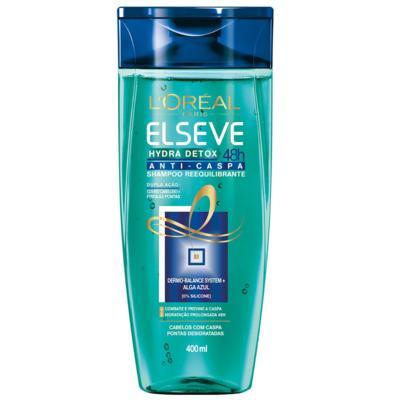 Imagem 1 do produto Shampoo Elseve Hydra Detox 48h Anti-Caspa 400ml