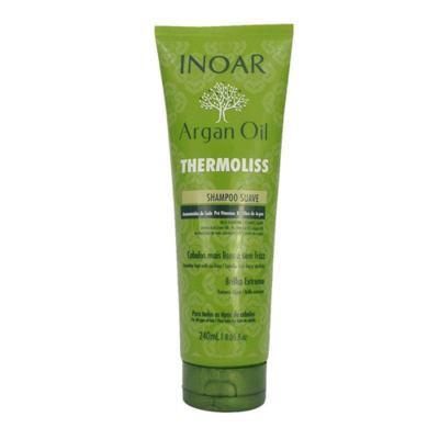 Imagem 4 do produto Kit Shampoo + Condicionador + Balsamo Inoar Argan Oil Thermoliss - Kit