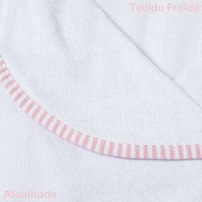 Imagem 3 do produto Toalha com capuz para bebe Elefantinha - Classic for Baby