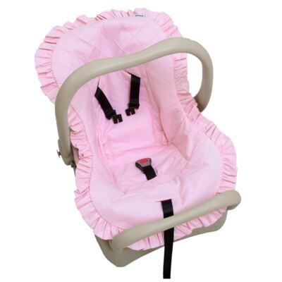 Imagem 1 do produto Capa para bebê conforto em percal Rosa - Biramar Baby