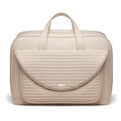 Imagem 2 do produto Kit Mala Maternidade para bebe  + Bolsa Sevilha + Frasqueira Térmica León Golden Marfim - Classic for Baby Bags