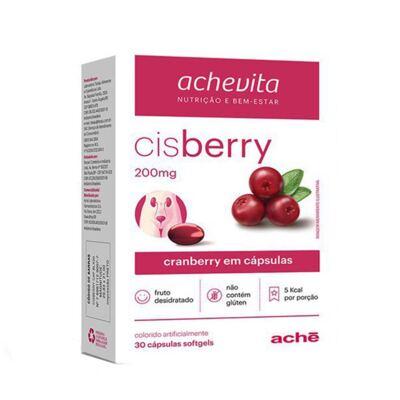 Imagem 1 do produto Cisberry 200mg Aché 30 Cápsulas