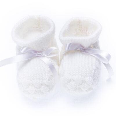 Imagem 1 do produto Bota em tricot Branca - Roana