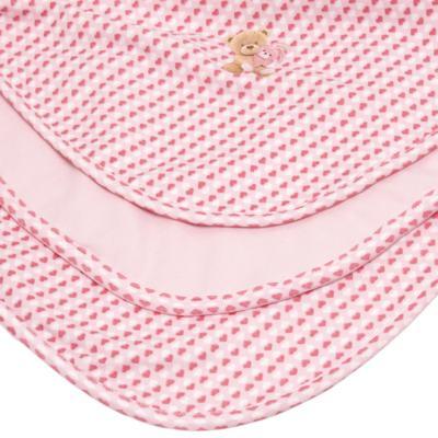 Imagem 2 do produto Manta para bebe em algodão egípcio c/ jato de cerâmica e filtro solar fps 50 Maternité Love - Mini & Kids