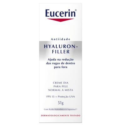 Imagem 2 do produto Eucerin Hyaluron-Filler Dia FPS 15 Pele Normal a Mista Anti-idade 51g